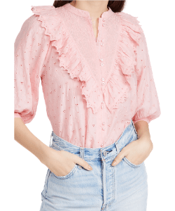 byTiMo Broderie Anglaise Blouse