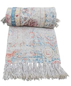 Decorative Persian Looks Printed Cotton Throw Blanket Boho Chick Blanket, Sofa Throw, Beach Blanket Home Decor Throw Picnic Throw