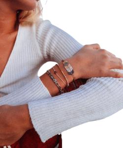 Bondi bead bracelets, Bracelets for women, Boho jewelry, Bead bracelet, Boho bracelet set, Handmade bracelets, Ethical jewellery