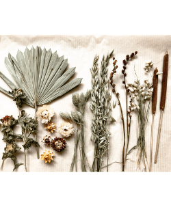 Dried Flowers Wedding Cake, Celebration Cake, Boho Cake Flowers ~ Prairie Collection