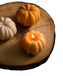 Pumpkin Soy Wax Candles / Autumn Candles / Pumpkin Spice Candles / Autumn Home Decor / Pumpkin Decor / Halloween Decor / Thanksgiving Decor
