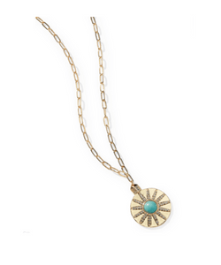 Park Lane Jewellery Turquoise Soleil Boho Necklace