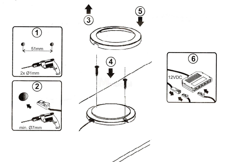 Led Strip Light 12v Wiring Diagram