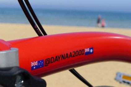 It's not often this ex-Queenslander makes it to the beach! - @daynaa2000