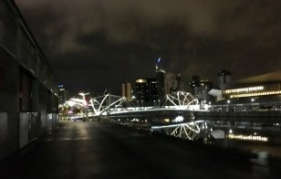 Approaching Seafarers's Bridge