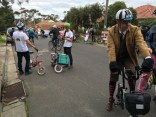 No idea how these guys made it around - #MelburnRoobaix #Melbourne #Brompton Club