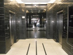 ACA Building, Queen St. 1937. Intact throughout with black marble clad lobby