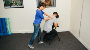 corporate massage melbourne