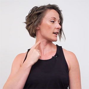 simple neck stretches