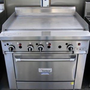 Garland Flat Grill Oven Range