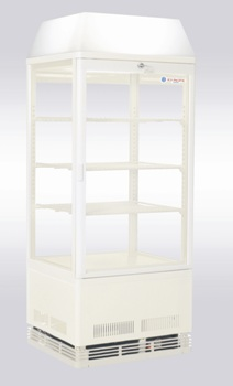 Venice LC White Benchtop Display Fridge