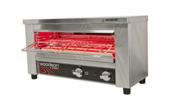 Woodson Multi-Function Glass Element Toaster Griller