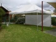 6x4m Tent set up