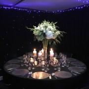 Star Curtain - Round Table - Folding Chair