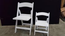 Kids-White-Americana-Chair
