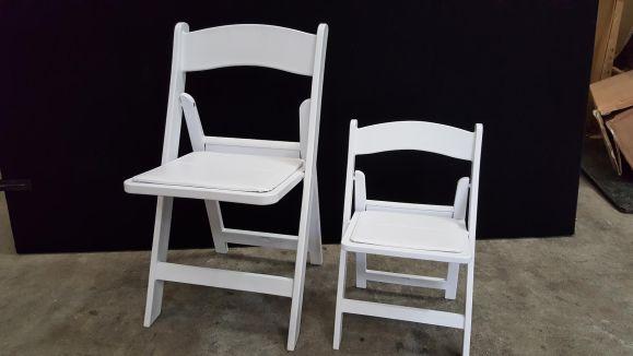 Kids-White-Americana-Chair