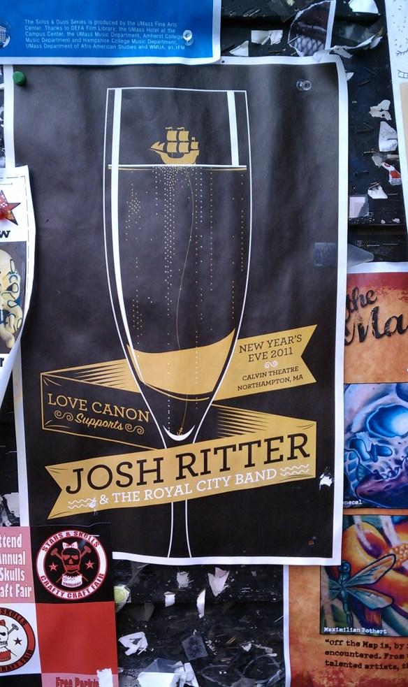 Josh Ritter poster