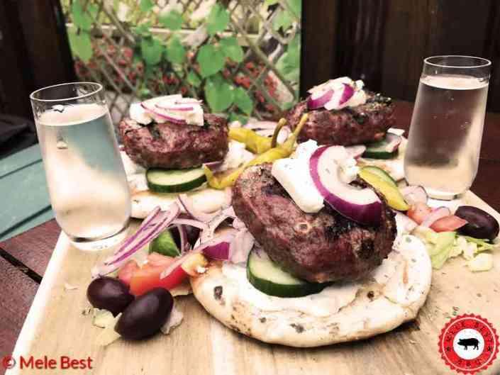 Griekse burger