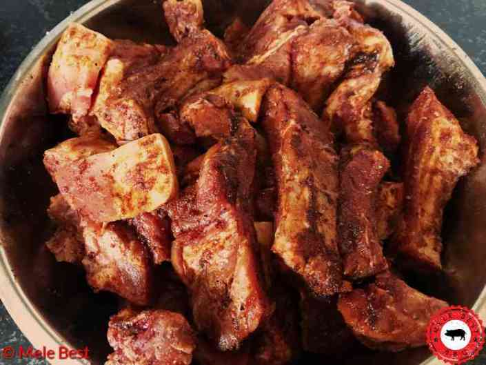 Smoked bacon ribfingers