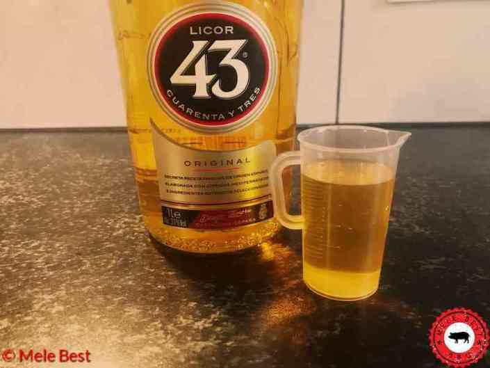 Appel kruimeltaart met licor 43