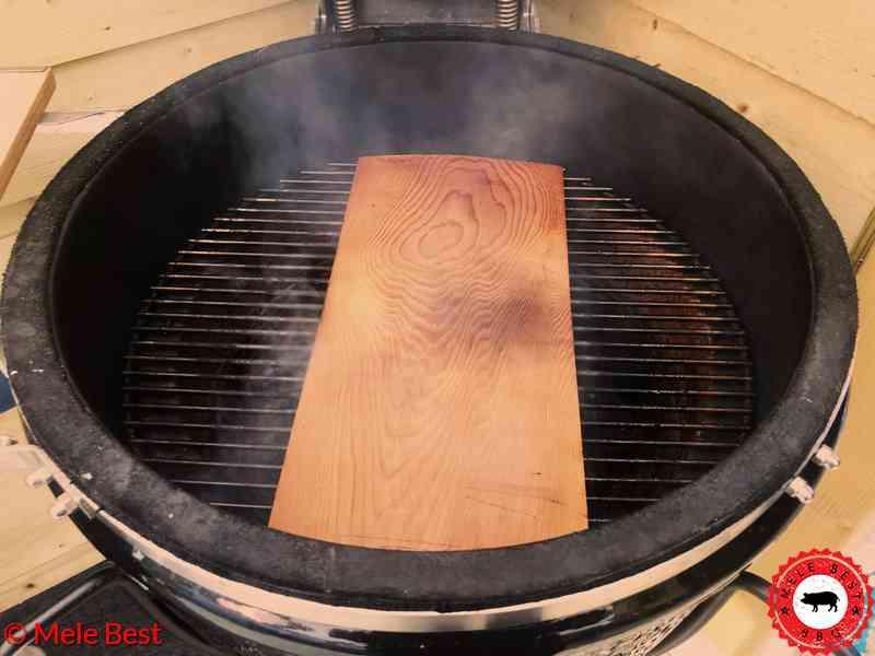 Warm gerookte zalm