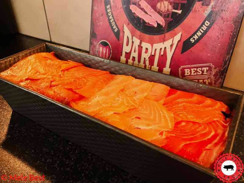 Gerookte zalm cake