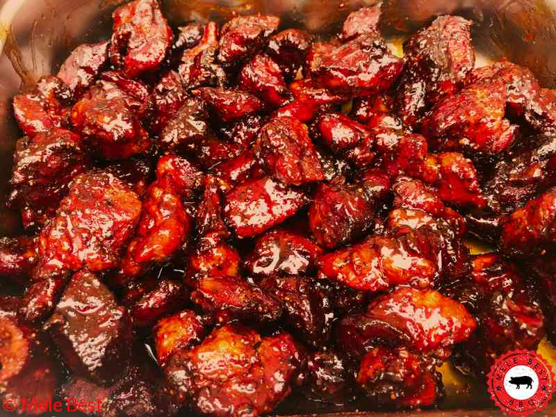 Pork burnt ends