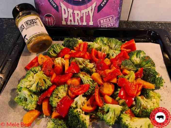 Kabeljauw met gegrilde groenten