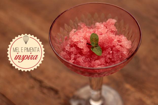 Granita de melancia – Refrescante e deliciosa