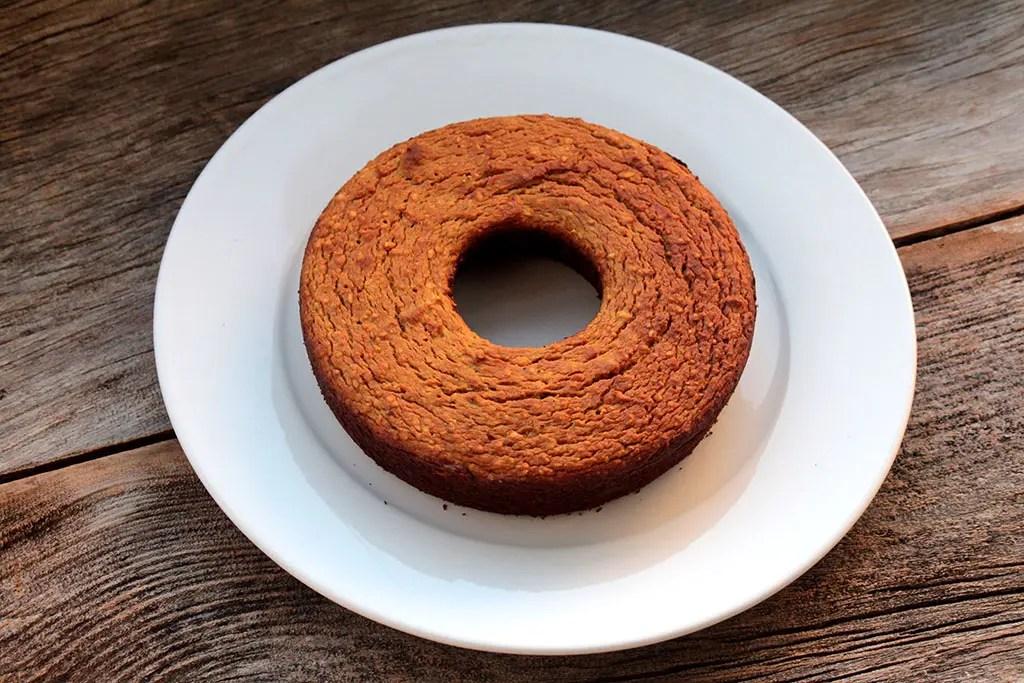Receita de bolo de batata-doce e castanhas - Receita sem glúten