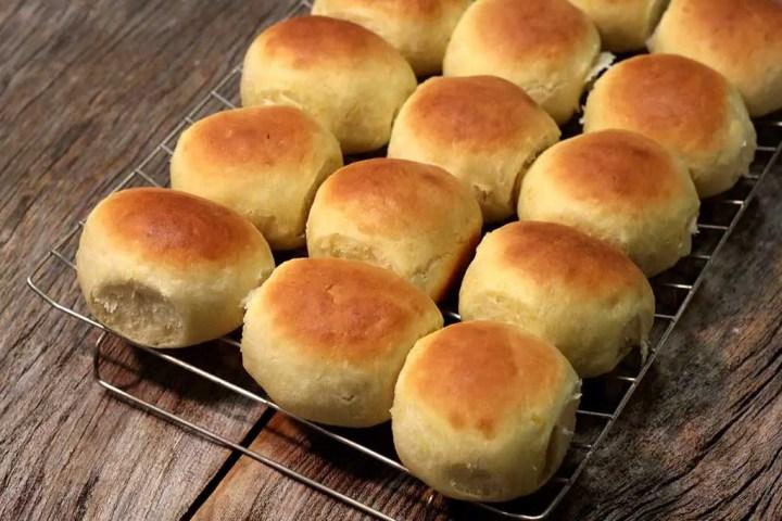 Pãozinho de batata-baroa