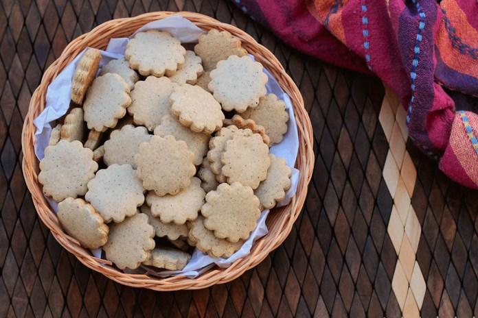 Biscoitos sem glúten - Feitos com farinha de arroz