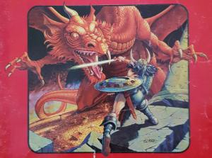 Larry Elmore's Basic Set red dragon