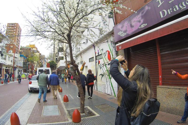 Bairro chinês em Buenos Aires