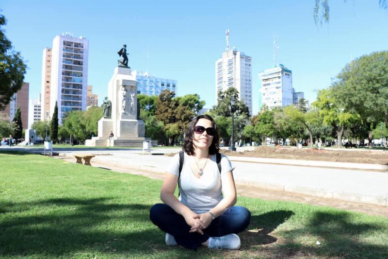 Plaza Rivadavia Bahía Blanca