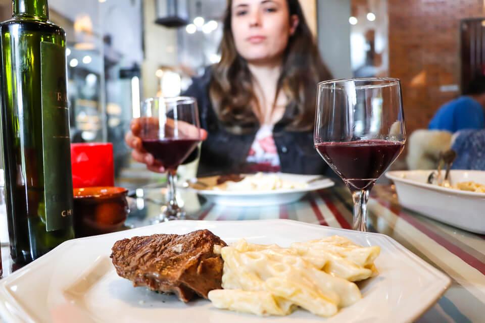 Onde comer em Gramado? Comida italiana no Trattoria de la Coperta