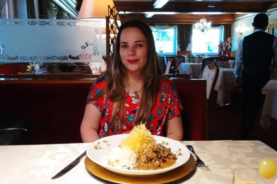 Onde comer em Gramado comida tipica alemã