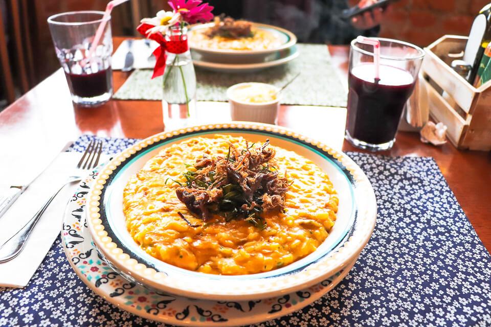 Onde comer em Gramado? Melhor risoto para o almoço