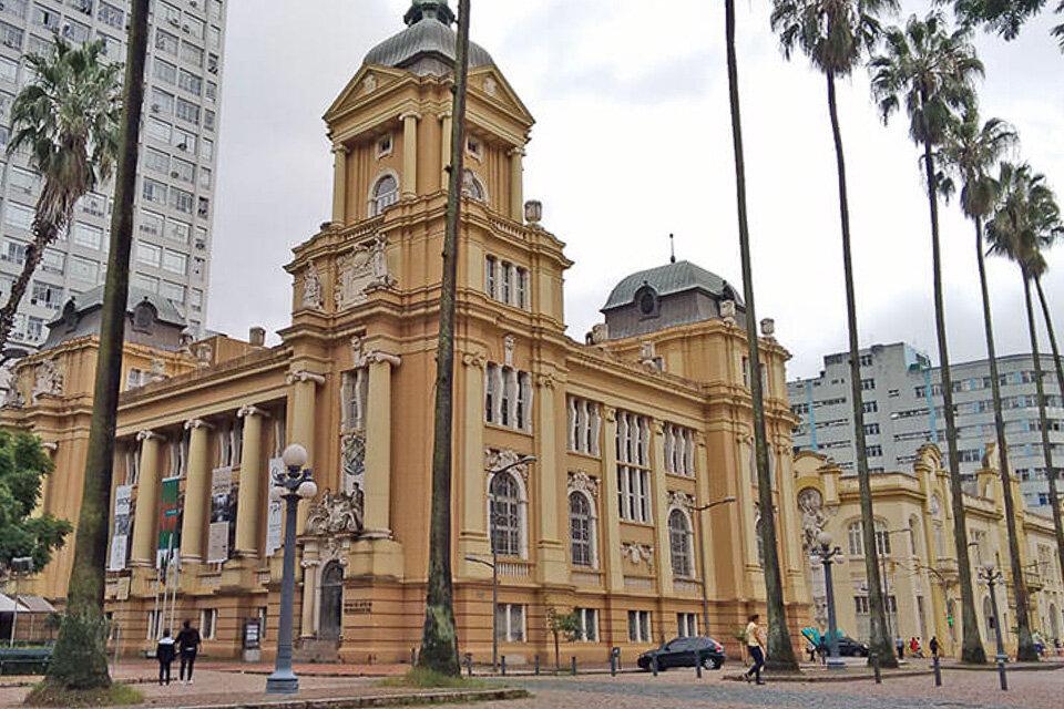 Centro Histórico de Porto Alegre - Praça da Alfandega