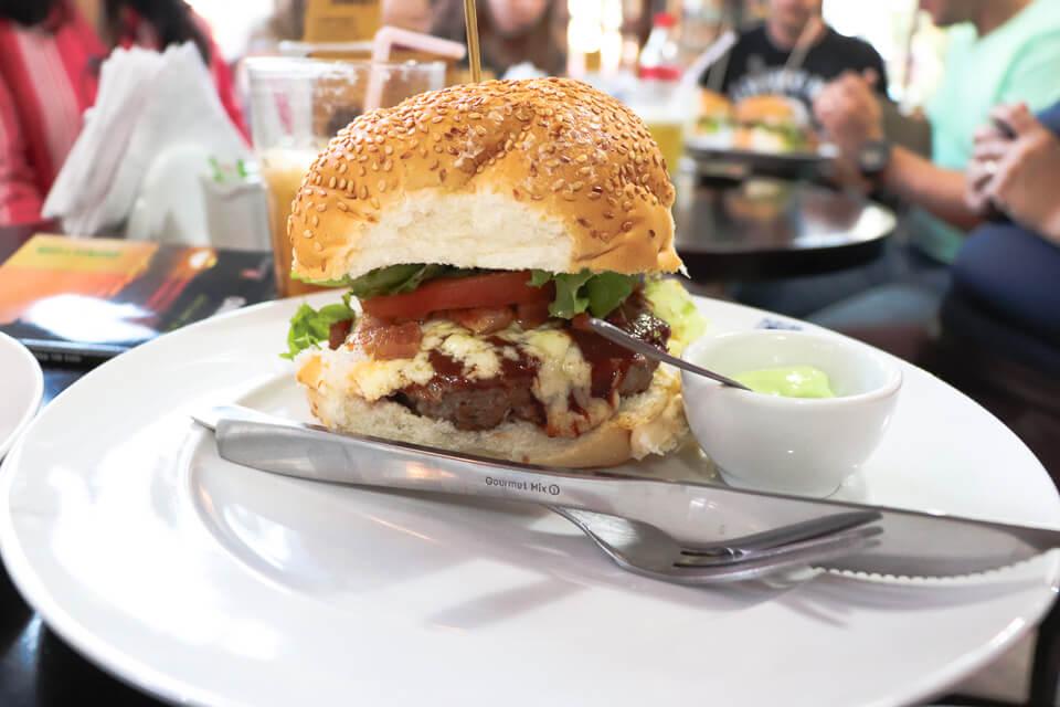 Onde comer hambúrguer nas Ruínas de São Miguel, Rio Grande do Sul
