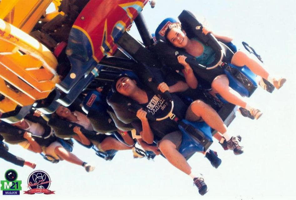 Fire whip do Parque do Beto Carrero World