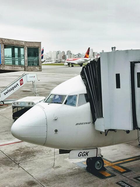 Me Leva De Leve - Diário de Viagem - Aeroporto de Congonhas - São Paulo