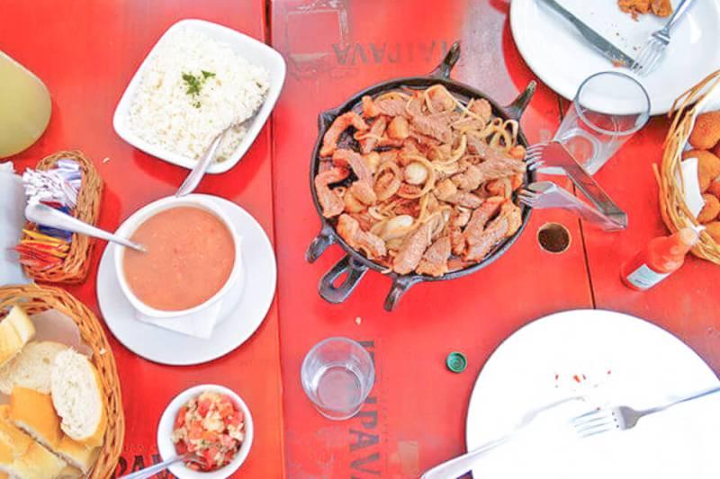 Bate e Volta de Sampa pra Embu das Artes e comer no Casarão restaurante e choperia