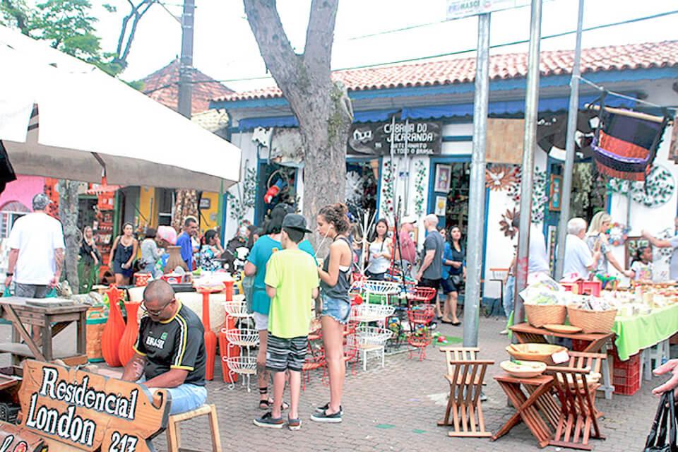 Bate e Volta de Sampa pra Embu das Artes e fazer compras na feira