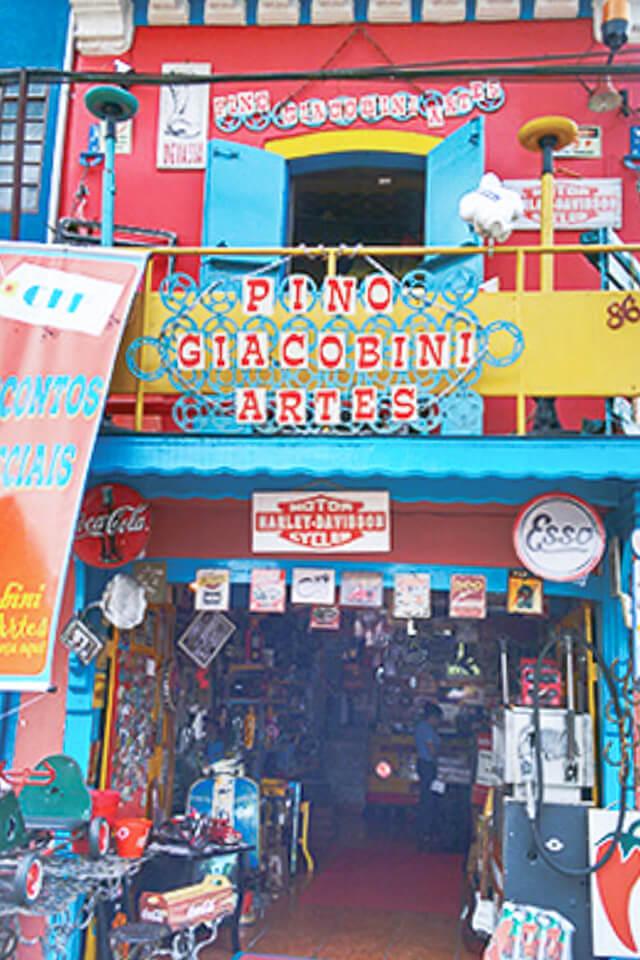 Bate e Volta de Sampa pra Embu das Artes e faça compras no Pino Giacobini Artes