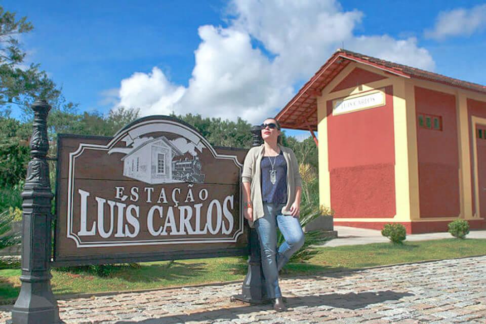Estação de trem de Luís Carlos