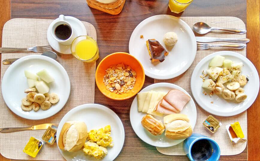 Onde ficar hospedado em São Roque com café da manhã