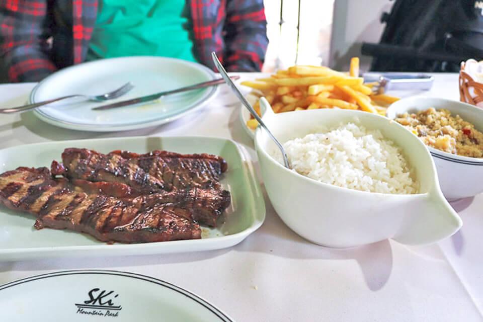 Onde comer em São Roque? Restaurante argentino no Ski Moutain Park