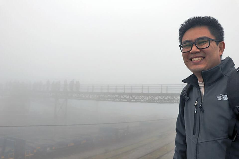 O que ver e fazer em Paranapiacaba? Neblina