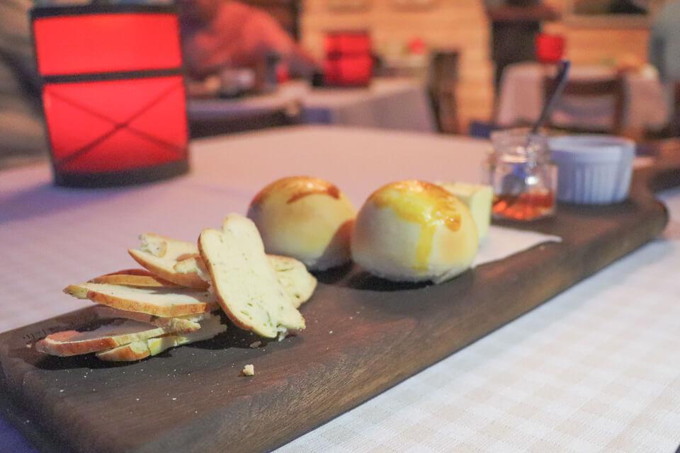 Gastronomia do Parador Casa da Montanha em Cambará do Sul